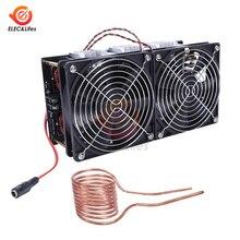 12-48V 1800W 2500W High Power ZVS Induction Heating Board Module Flyback Driver Heater + Tesla Coil + Dual fan