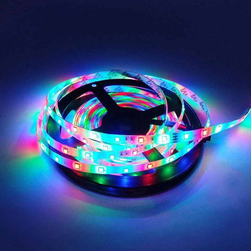 5M RGB Warm Cool White Red Green Blue Yellow Flexible Waterproof LED Strips TOP