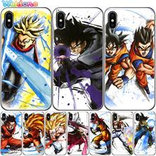 Phone Cases Dragon Ball DragonBall Goku Case For iPhone XS Max XR X 8 7 6S Plus 5S soft silicone phone case cover etui