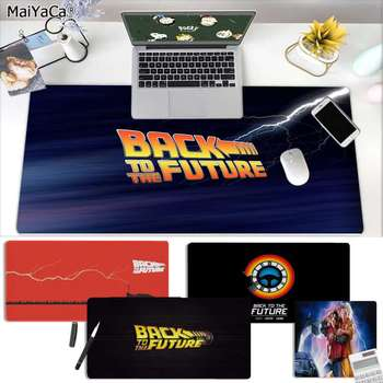 MaiYaCa Cool New Back to The Future Gamer Speed Mice Retail Small Rubber Mousepad Free Shipping Large Mouse Pad Keyboards Mat maiyaca cool new bulldog laptop computer mousepad free shipping large mouse pad keyboards mat