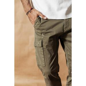 Image 5 - SIMWOOD 2020 אביב חדש מכנסיים מטען גברים Streetwear בציר אופנה היפ הופ קרסול אורך מכנסיים טקטי בתוספת גודל מכנסיים 190461