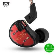 KZ auriculares internos AS10 5BA, monitor HIFI, para música, general, ZS10 PRO, AS12, AS16, ZSX, V90, C12, C10, A10, BA5, ZSN