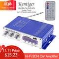 HY502 Display Digitale Hi-Fi 2CH Car Stereo Amplificatore di Potenza USB di Sostegno FM AUX AMP per iPod USB MP3 FM SD martinetti di Ingresso Audio di Casa