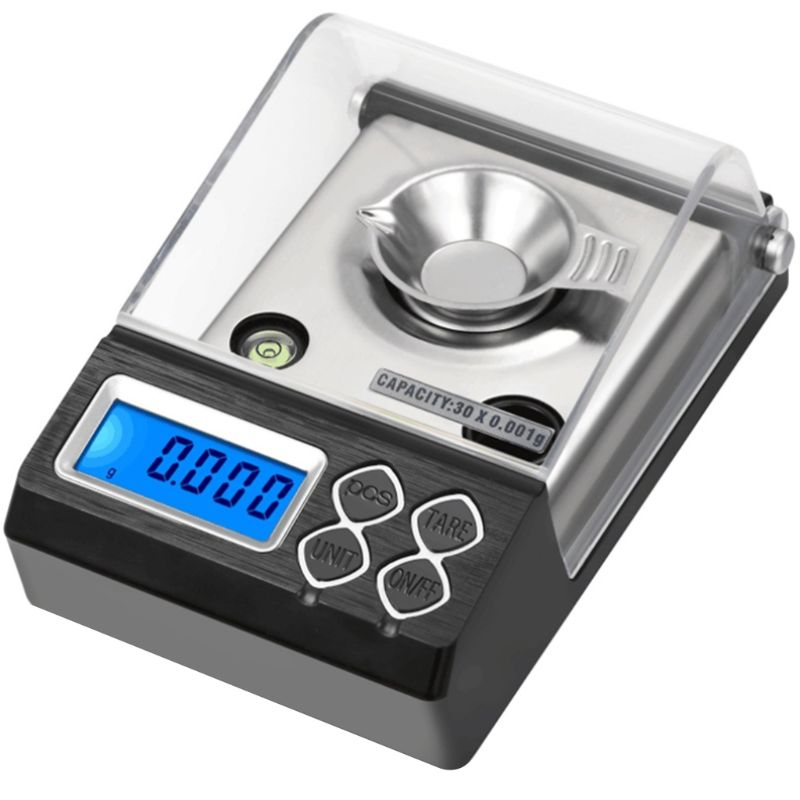 30g/0.001g High Precision Professional Digital Milligram Scale Mini Electronic Balance Powder Scale Gold Jewelry Carat Scale Hot