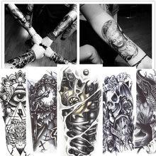 12 листов 3d водостойкие Временные татуировки для мужчин и женщин