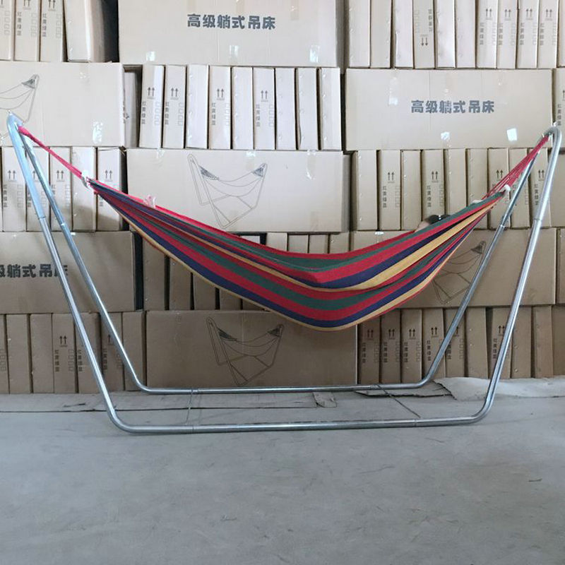 Adults Hammock Of Steel Pipe Frame Can Load 150KG, Adults Swing For Outdoors, Or Indoor Kids Cradle