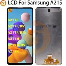 100% testowane dla Samsung Galaxy A21s A217 SM-A217F/DS LCD z ekranem dotykowym Digitizer zgromadzenie części naprawa