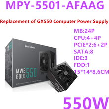 PSU Power-Supply Cooler Master RTX2070 Game Full-Module GOLD 550W New for Brand MWE MPY-5501-AFAAG