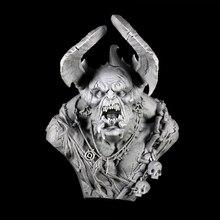 1/9 anicent krieger mit fühler fehlschlag Harz abbildung Modell kits Miniatur gk Unassembly Unlackiert