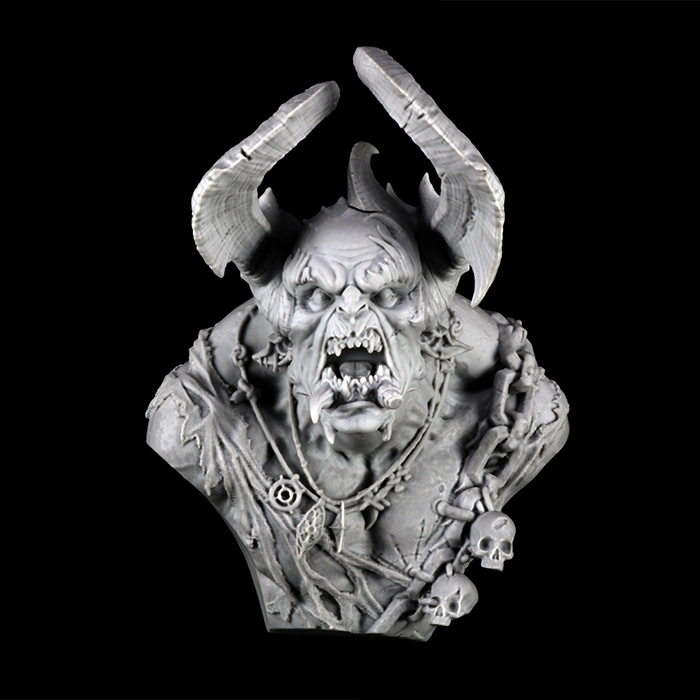 1/9   Anicent Warrior With Feeler  Bust  Resin Figure Model Kits Miniature Gk Unassembly Unpainted