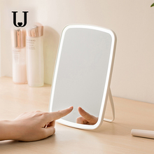 JJ Desktop LED Makeup Mirror Touch Control LED Natural Fill Light Adjustable Angle USB Rechargeable from ecosystem Product