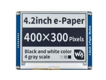 Модуль e ink 42 дюйма 400x300 модуль электронной бумаги черно