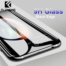 FLOVEME Tempered Glass For Huawei Mate 10 20 Lite P10 P20 Lite Pro 9H Glass Screen Protector For Honor 9 10 Lite Protective Film(China)