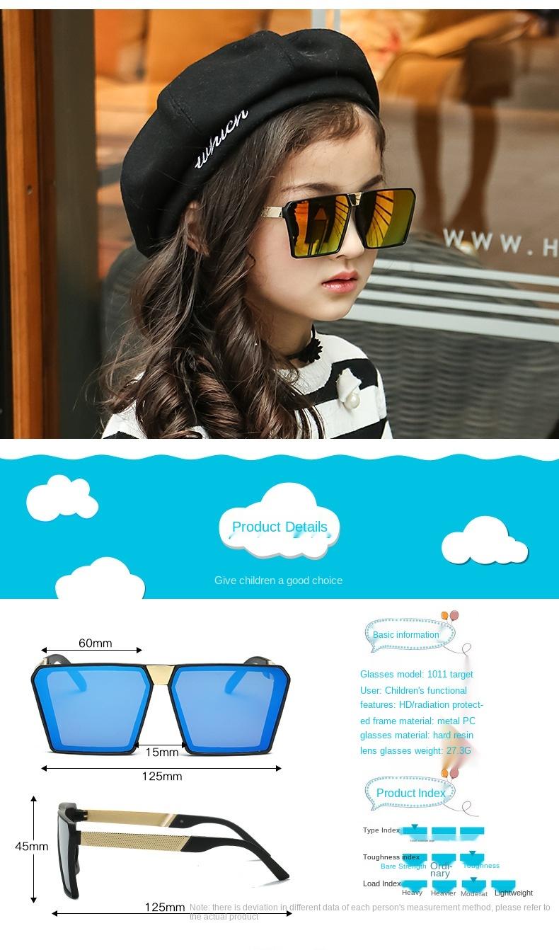 Женские солнцезащитные очки с полуметаллической оправой в стиле