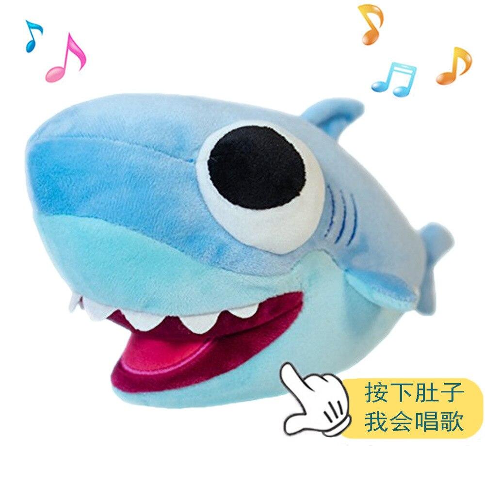 Baby Kids Shark Plush Singing Plush Toys Music Doll English Song FUUNY Gift USA