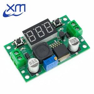 Image 3 - Módulo de alimentación reductor ajustable LM2596S LM2596 DC 4,0 ~ 40 a 1,3 37V + MÓDULO DE DC DC voltímetro LED, barato