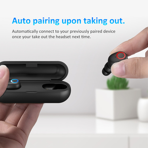 Image 5 - Instock LEAGOO TWS A3/AirBass A3 אלחוטי אוזניות קול בקרת Bluetooth 5.0 רעש הפחתת שליטה ברז