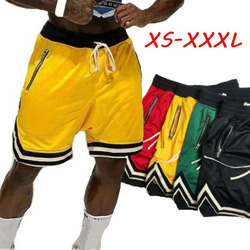 Men's Fitness Shorts Basketball Training Outdoor Sports Shorts Casual Quick Dying Athletic Short Pants