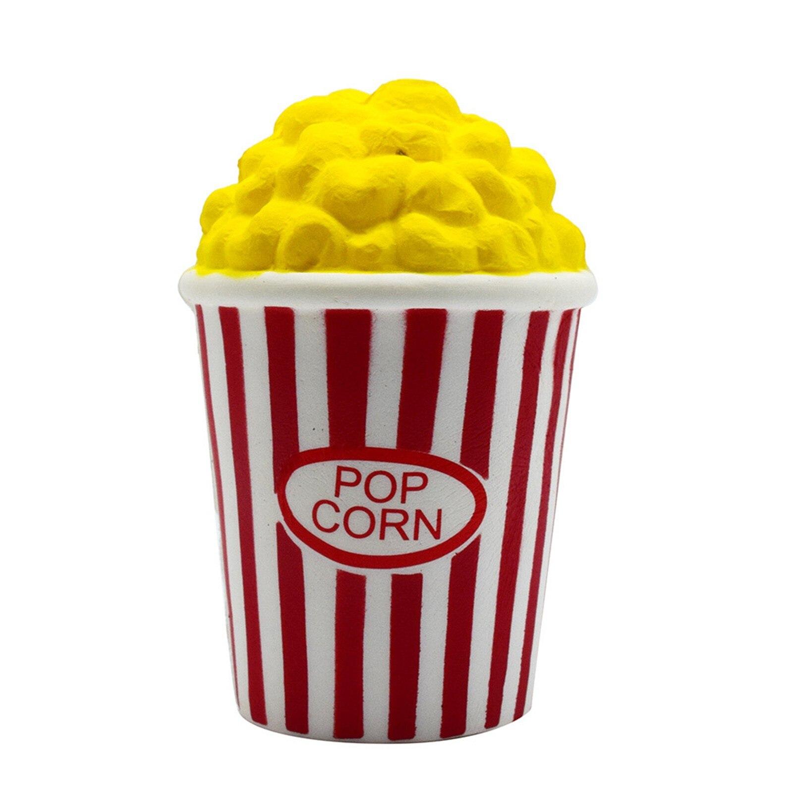 Squshy-Popcorn-Toys Hamburger Squish Stress Relief Milkshake Gift Slow Rising 1PC Jokes img3