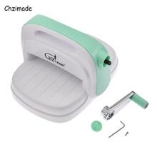Машина для тиснения Chzimade для высечки, скрапбукинга, высечки бумаги, карточек, кожи, ткани, резак, машина «сделай сам», украшение для дома
