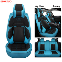 Full Coverage Eco leather auto seats covers PU Leather Car Seat Covers for ford fusion kuga mk2 mondeo mk3 mk4 ranger car covers