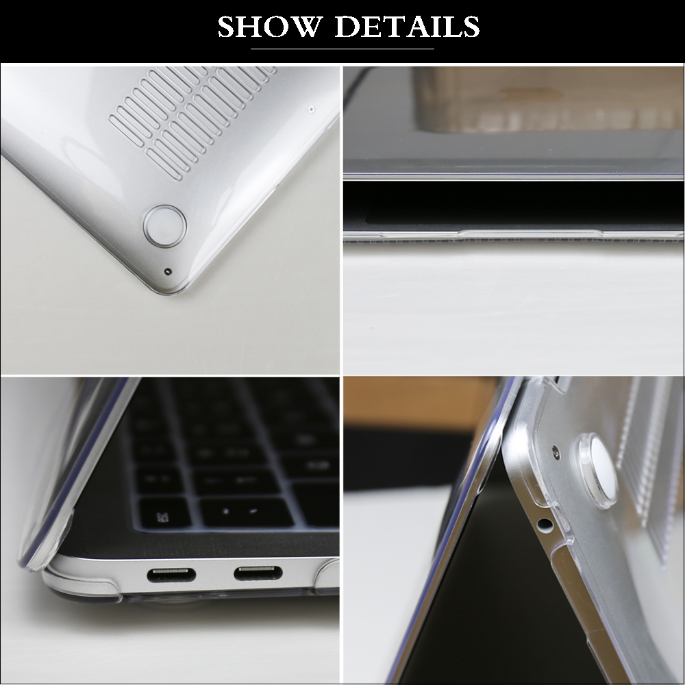 Laptop Case For MacBook Pro 13 Case 2020 M1 A2338 Touch ID Coque For Macbook Air 13 A2337 Funda Pro 16 Case 11 12 15 accessories 4