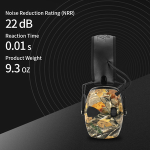 Image 5 - ZOHAN 전자 귀마개 NRR 22DB 전술 사냥 귀 플러그 전자 보호 슈팅 귀 Muffs 전술 귀마개 촬영