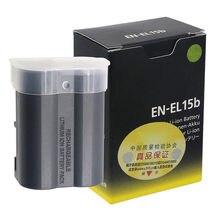 10 pièces EN-EL15b MH-25 Chargeur de Batterie Appareil Photo Pour Nikon Z6 Z7 Hybride D850 D810 D750 D610 D7500 D7200 MH-25a