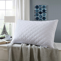 Five Star Pillow Inner Pure Cotton Quilted Stereo Bilateral Pillow Interior Ultra stretch High Pillow One piece Set Pillow