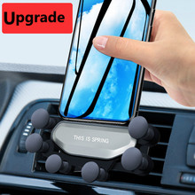 Universal Gravity Car Phone Holder Air Vent Mount Clip Suppo