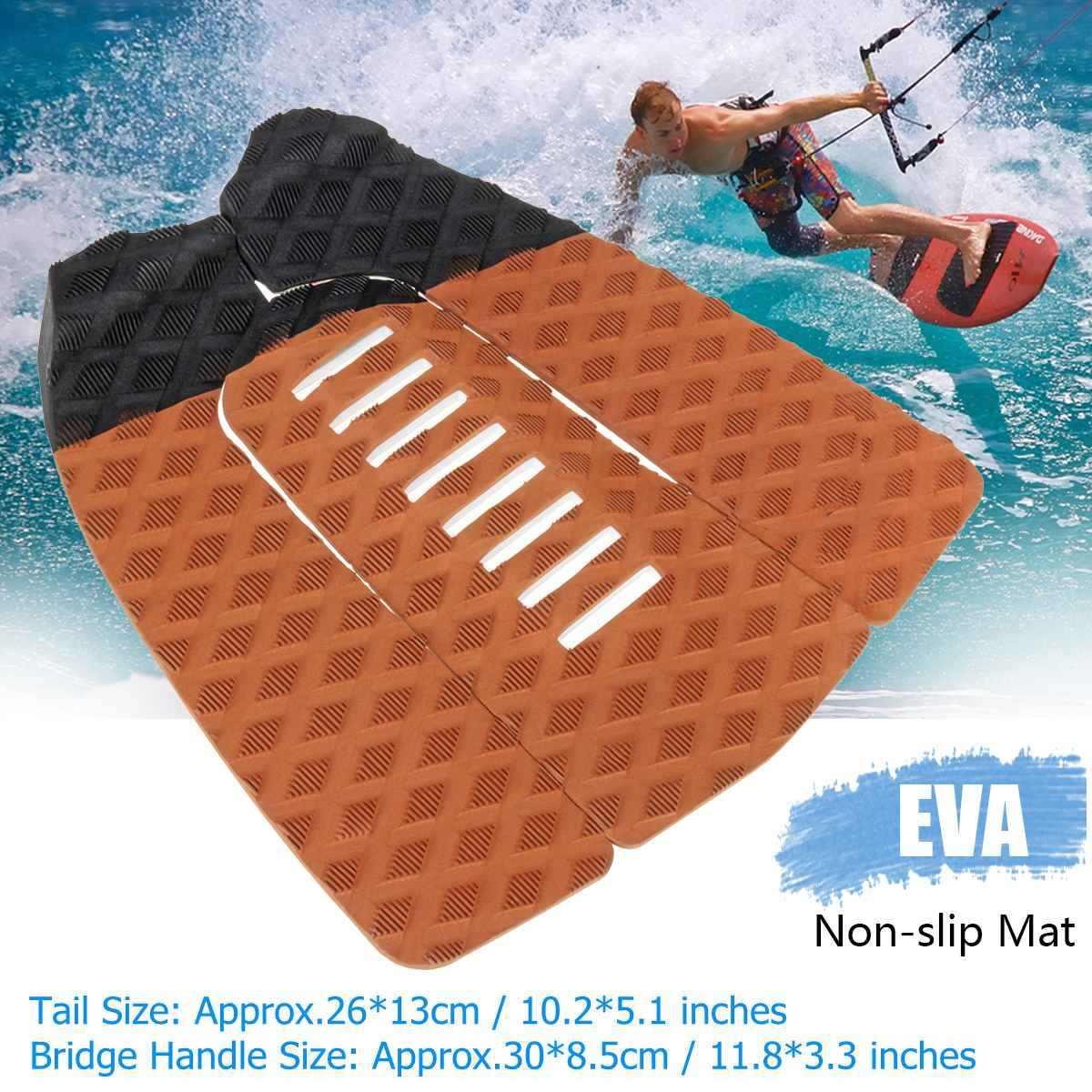 1 Set EVA patins de surf anti-dérapant Traction planche de surf Pad Sports nautiques en plein air surf pont poignée tapis Anti-choc planches de surf
