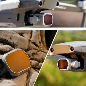 Image 4 - PGYTECH Mavic 2 Pro zaawansowany zestaw filtrów ND8/16/32/64 PL ND8/16/32/64 zestaw obiektywów do aparatu zestaw do akcesoriów DJI Mavic 2 Pro Drone