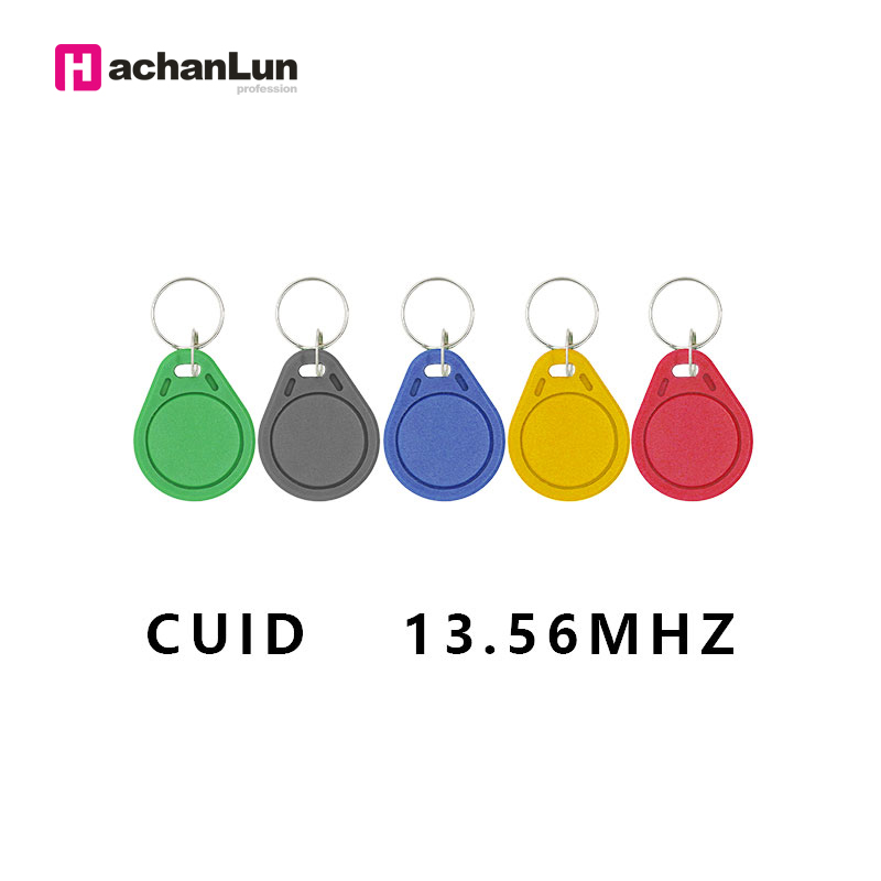 100Pcs/lot Changeable MF S50 1K IC KeysNFC Clone Copy  Block 0 Writable14443A   Keyfobs Token Tags S50 13.5MHZ CUID