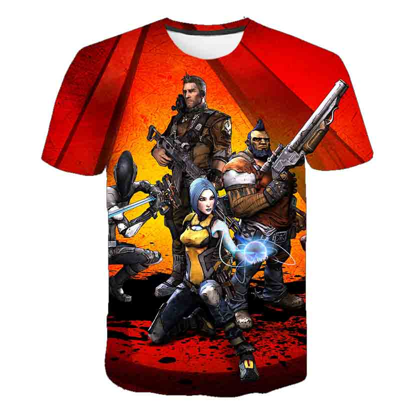 3D T-shirt Legends Game Anime 3D Printed T Shirt Children Summer Short Sleeve Tops Tees Boy Girl Kids Tops Cool Tees