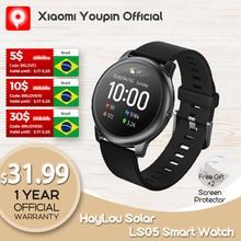 YouPin Haylou Solar LS05 Sport Watch Heart Sleep Monitor Battery Android iOS IP68 Waterproof iphone metal