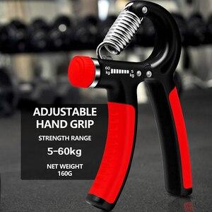 Image 4 - Worthwhile equipamento de ginástica hand grip, exercitador de mão e dedos para treinamento pesado, fortalecimento do músculo e recuperação do tônus da mão, ajustável, 5 60kg, para homens treinador
