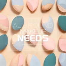 4pcs Cosmetic Sponge Wet And Dry Beauty Makeup Egg Puff Tool