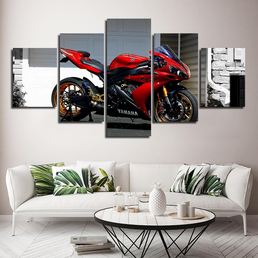 Toile moto Yamaha 1