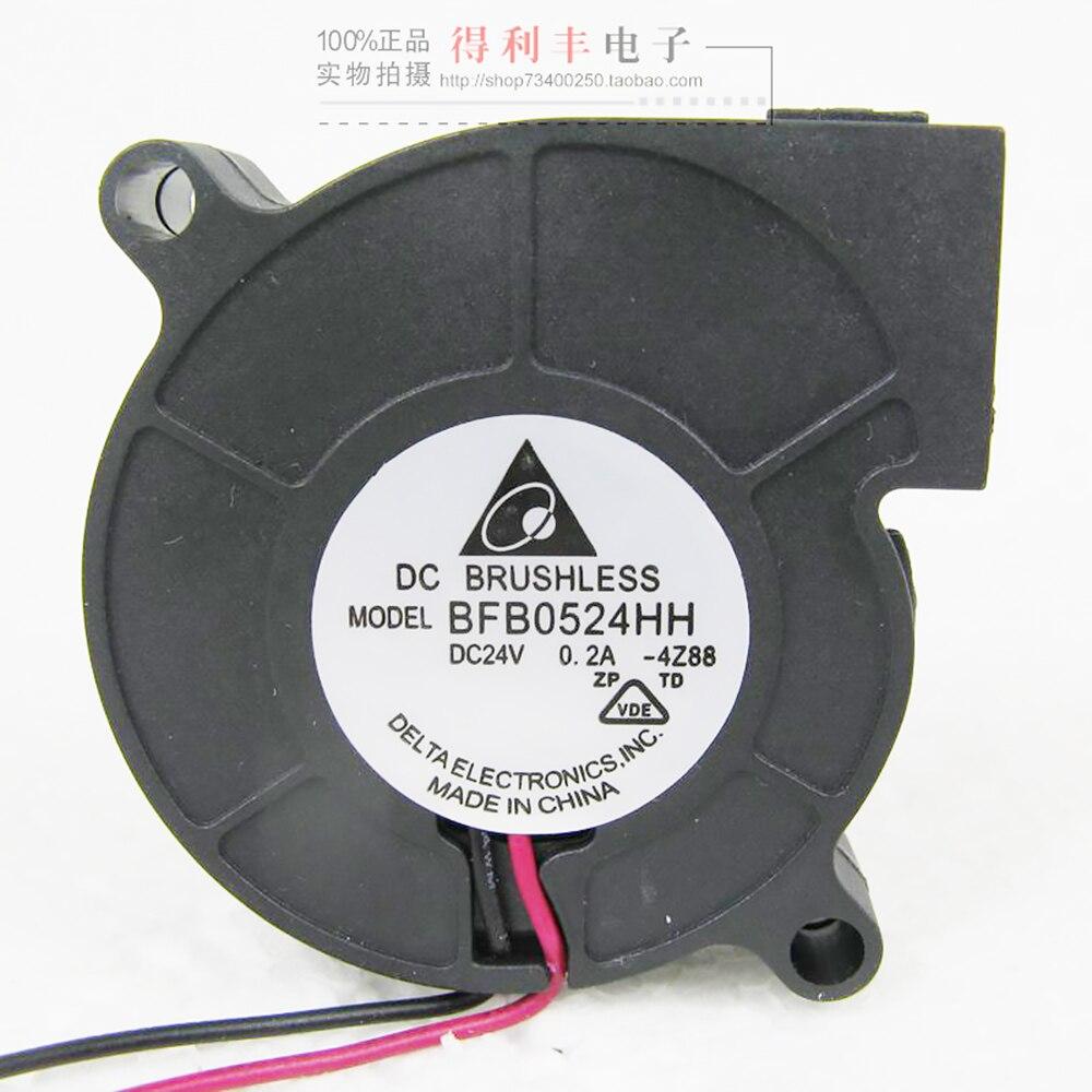 BFB0524HH for Delta 5015 24V 0.2A 5CM Cooling fan