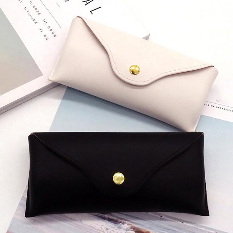 Convenient Lightweight Leather Sunglasses Case Glasses Box Sunglasses Box High-grade Easy To Carry Glasses Case Cover