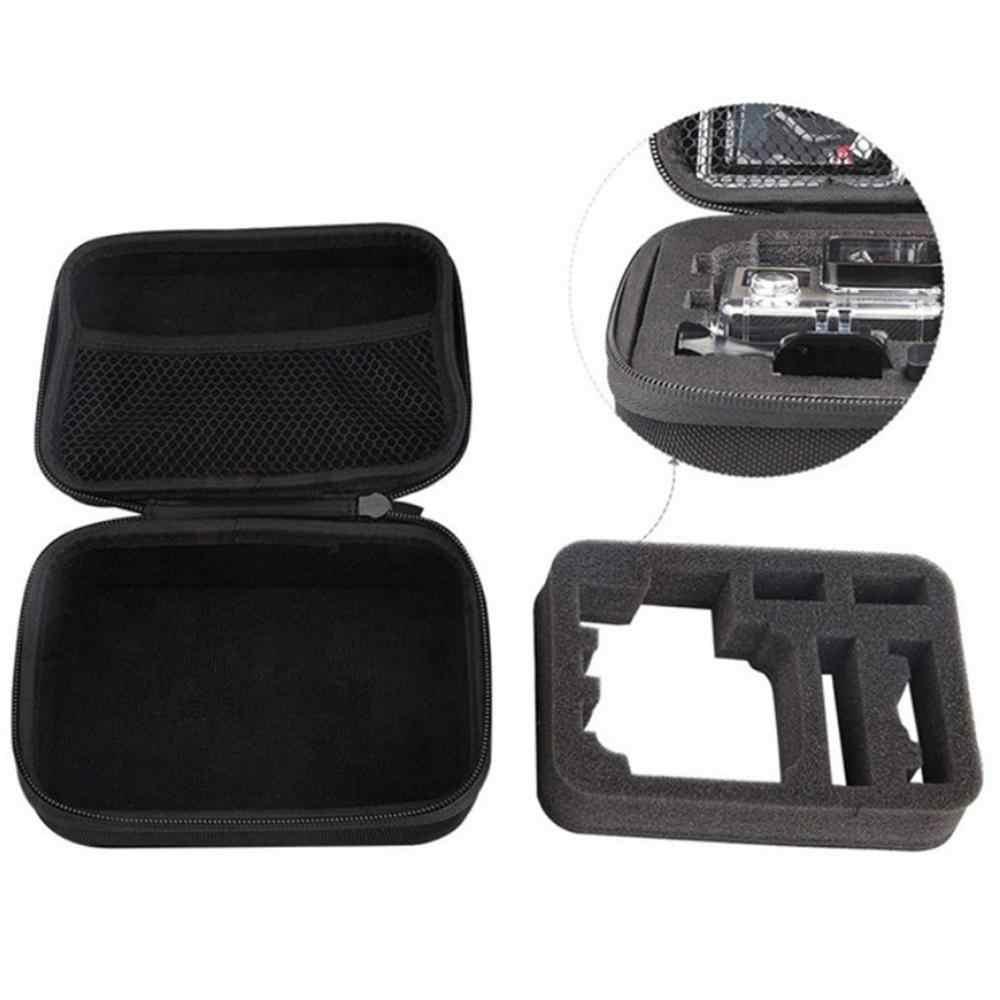 Gosear 32x22cm impermeable resistente al desgaste llevar bolsa de almacenamiento para GoPro Go Pro Hero 7 6 5 4 3 3 accesorios de Cámara de Acción