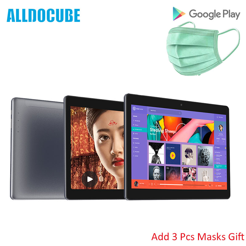 ALLDOCUBE M5XS 10.1 Inch 1200X1920 Dual 4G LTE Phone Android 8.0 Tablets PC Deca Core ROM Dual Wifi GPS Masks Gift