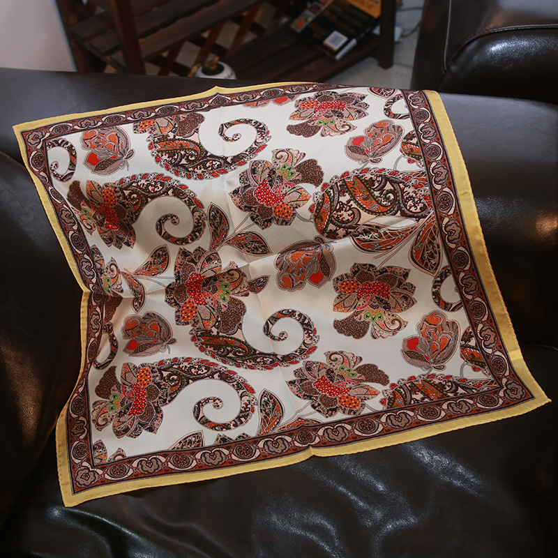 New Silk Scarves Professional Scarves Cashew Flower Silk Mulberry Silk Scarf/silk Scarf/silk Scarf