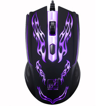 Profession Wired Gaming Mouse High Quality Ergonomic Optical Mouse 1600 DPI Fast Move Mouse Office Computer Laptop Mouse цена и фото