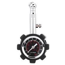 새로운 자동차 타이어 공기 압력 게이지 정확한 공기 압력 게이지 미터 테스터 0 100 psi 압력계 자동차 트럭 오토바이 자전거