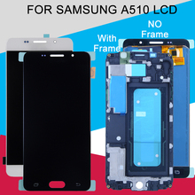 Catteny A510 LCD For Samsung Galaxy A5 2016 LCD Display A510M A510M/DS A510FD A510Y Display With Touch Screen Digitizer Assembly jgaurora a5 3d printer easy to assembly with hd touch display