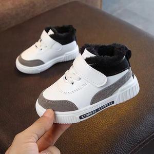 От 1 до 7 лет 2020 Новая модная зимняя детская повседневная обувь, детские осенние кроссовки для мальчиков, обувь для малышей из искусственной ...