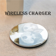 Wireless Charger qi For Galaxy S7 S6 EDGE S8 S9 S10 Plus Note 4 5 Iphone 8 X XS XR
