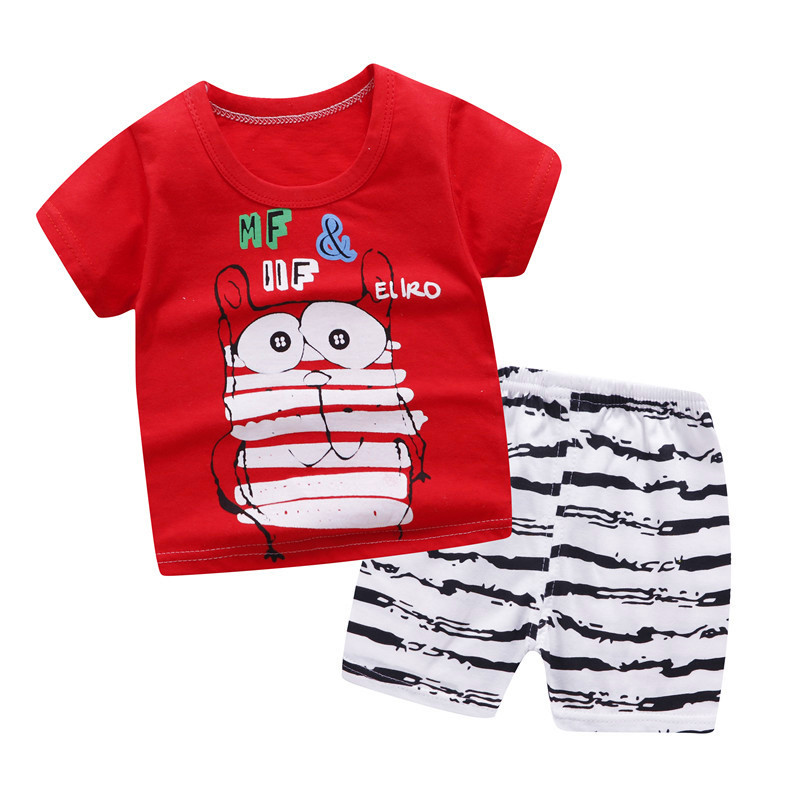 Baby Toddler Boys Fall Winter Clothes Outfits Set 2-7 Years Old,2Pcs Kids Handsome Red Shirt Braces Trousers
