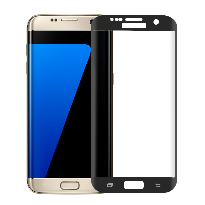 2019 New 9H Tempered Glass Curved Full Cover Screen Protector For Samsung Galaxy S7 Edge